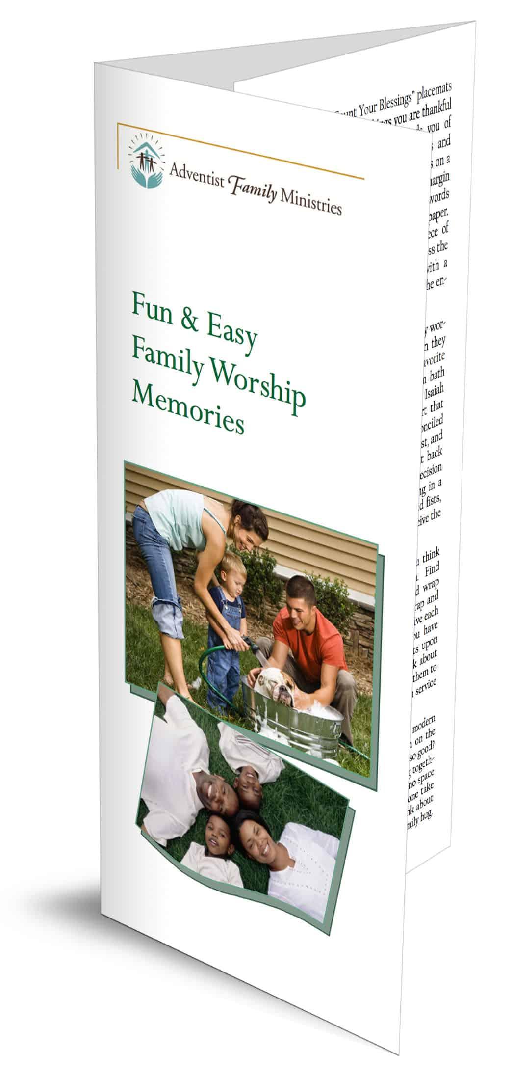 Fun & Easy Family Worship Memories – Family Ministries