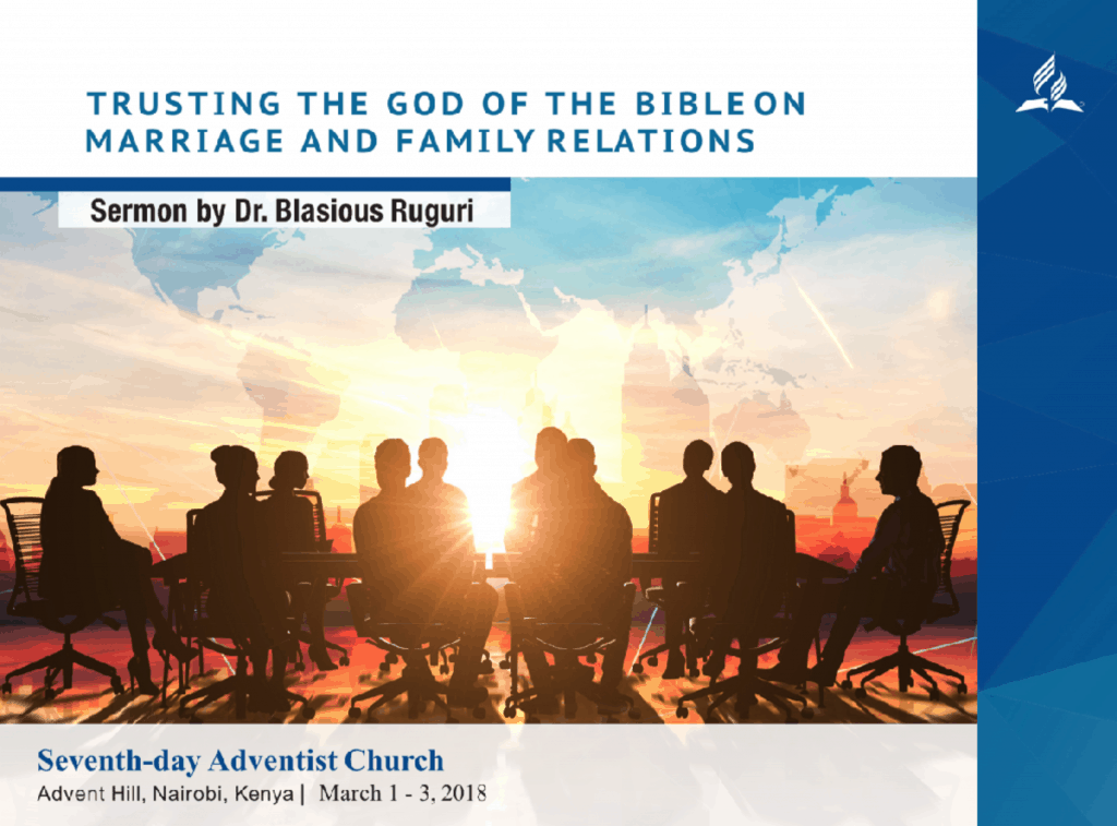 Adventist Pan-African Conference on Dynamic Family Relations